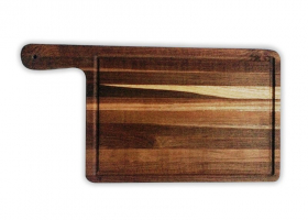 Wooden Chopping baord - large - with grip