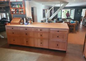 Oregon Pine Drawer unit