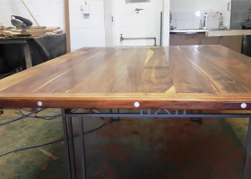 African-Teak-table-with-steel-frame